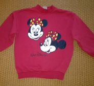 146/152 Minnie & Mickey mouse pusa