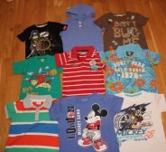 H&M, Chicco, Disney, riided poisile s. 86-104