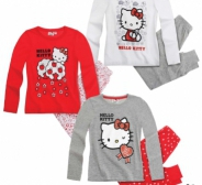 Uus Hello kitty pidzaama 116,  128