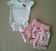 Nunnu suvine Hello Kitty komplekt, s56